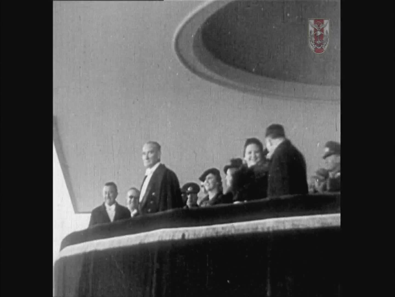 CUMHURİYET BAYRAMI TÖRENLERİ 29 EKİM 1936 ANKARA