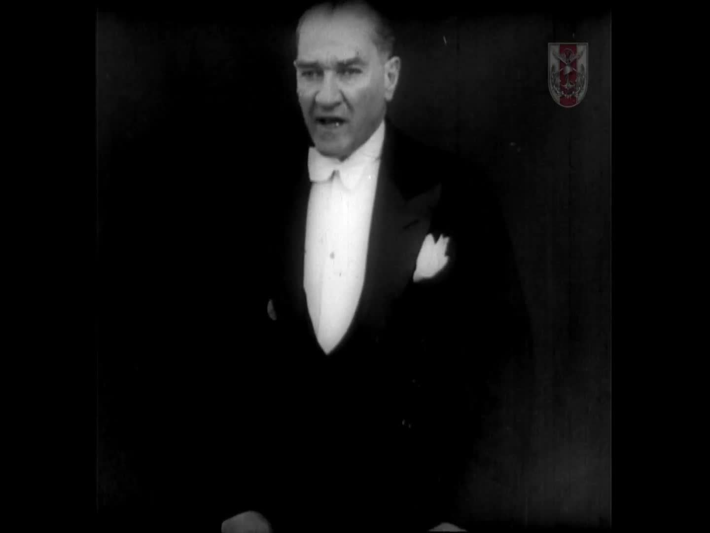 GAZİ MUSTAFA KEMAL ATATÜRK'ÜN TBMM AÇILIŞ KONUŞMASI 1932