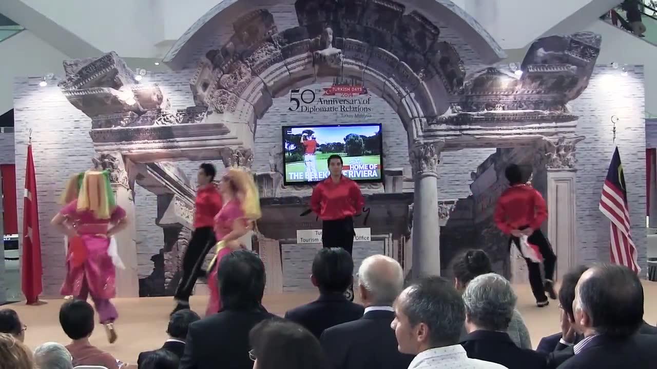Malezya'da Türk Günleri Açılış Töreni 2014