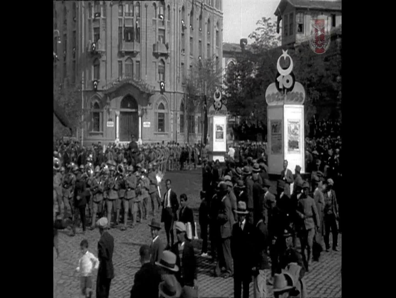 Ankara Cumhuriyet Bayramı Törenleri 29 Ekim 1933