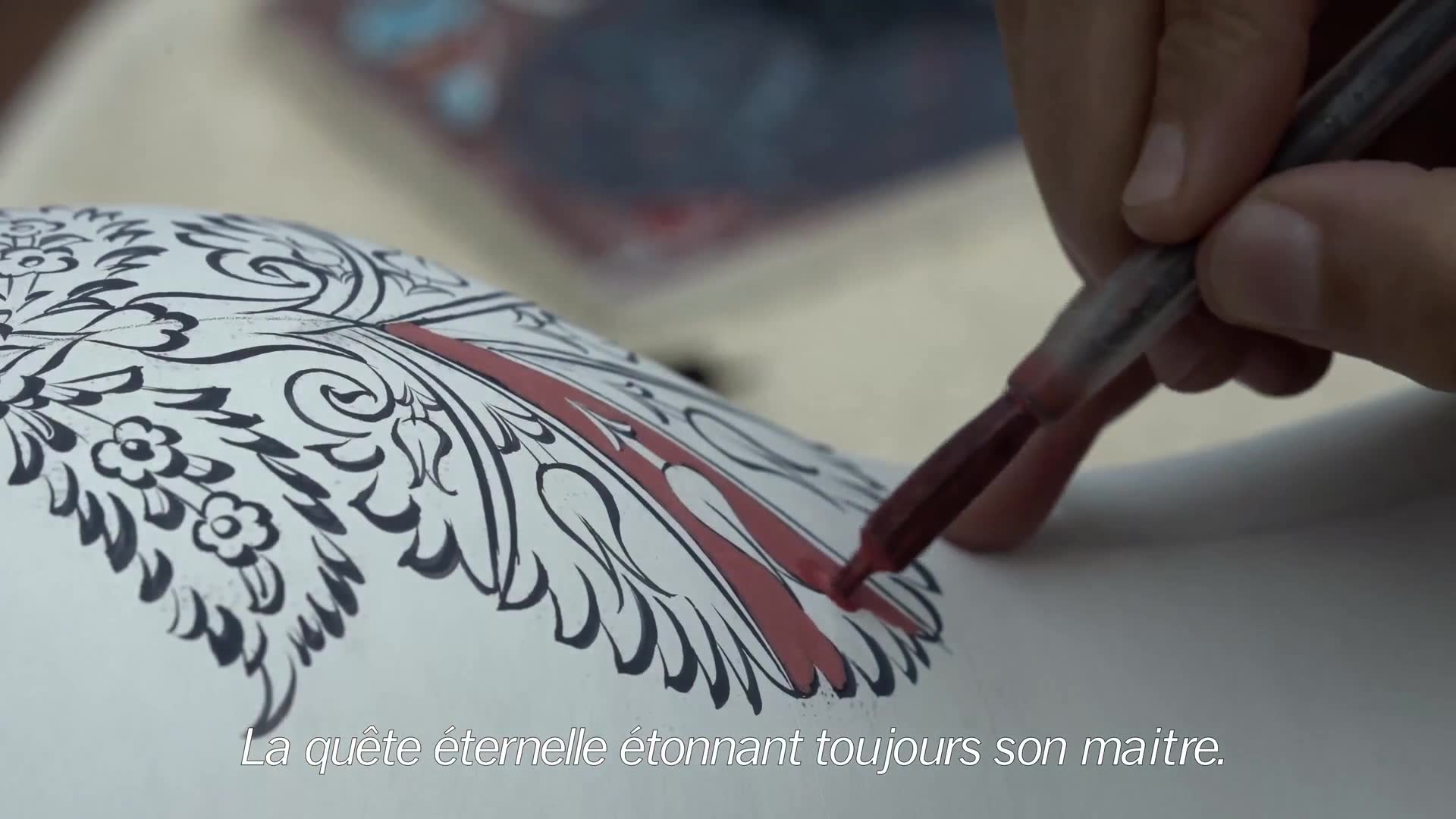 Kütahya Çini  Tanıtım Filmi (Fransızca Alt Yazı)